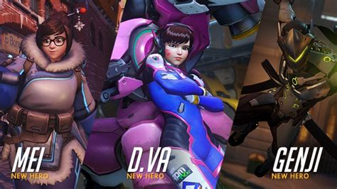Three new Overwatch heroes announced, video shows them in