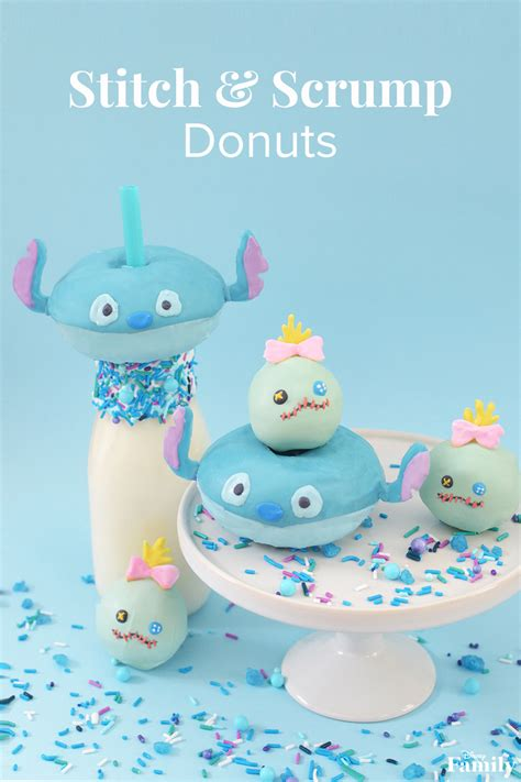 Stitch and Scrump Donuts Will Delight Your Whole Family