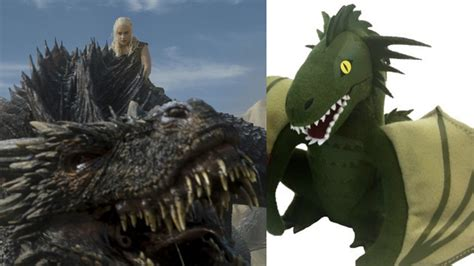 You can buy Daenerys's stuffed dragons at Comic-Con this