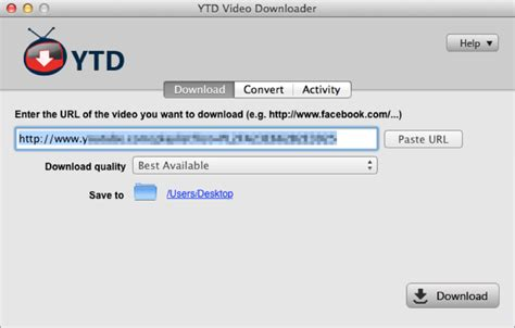 YTD Video Downloader for Mac - Free download and software