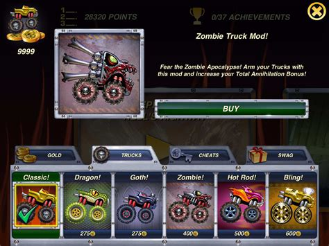 Trucks and Skulls NITRO HD for iPhone - Download