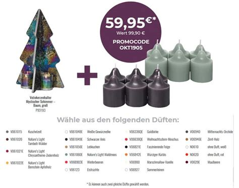 PartyLite® - Anke Luther - Angebote November 2018