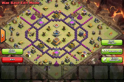 Clashing with Munchies!: Sample Clash of Clans War Bases