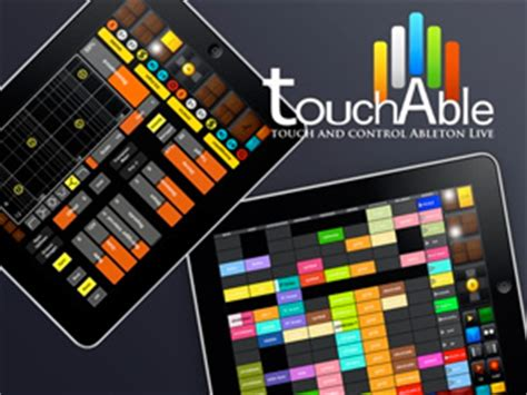 Touchable iPad Ableton Controller | iPad Music Apps Blog