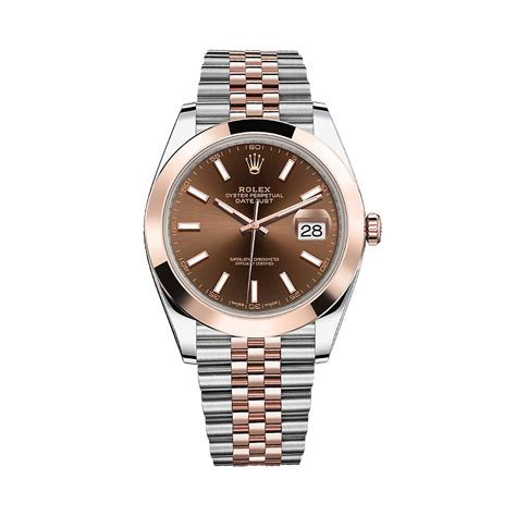 Rolex Datejust 41 126301 Rose Gold & Stainless Steel Watch