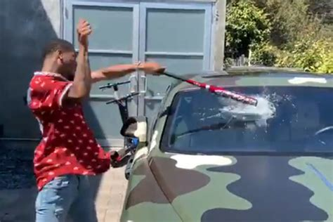 Key Glock Keeps Bashing Out the Windows in Young Dolph's