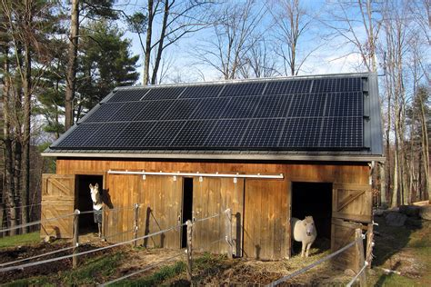 Not enough room on your roof for solar? Use your barn or