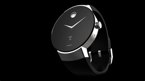Movado's Android Wear watch looks exactly how you'd expect