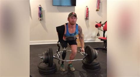 Double-amputee Lifter Jared Bullock Bangs Out 310-lb