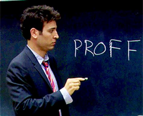 Ted Mosby, How I Met Your Mother | Hot Teachers in Movies