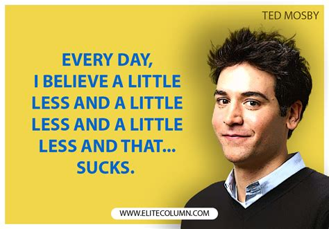10 Epic Ted Mosby Quotes from How I Met Your Mother