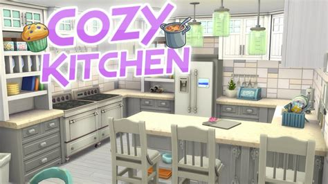 The Sims 4: Parenthood COZY DREAM KITCHEN | Speed Build
