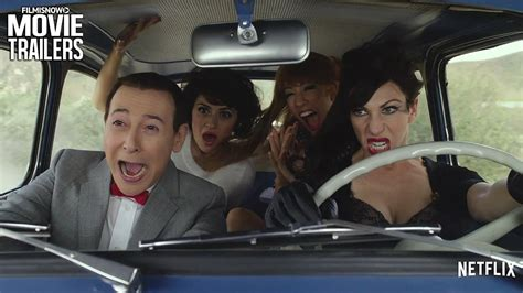 Pee-wee Herman takes his first-ever holiday - PEE-WEE'S