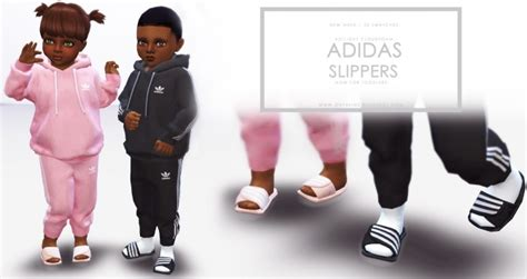 Slippers for Toddlers at Onyx Sims » Sims 4 Updates
