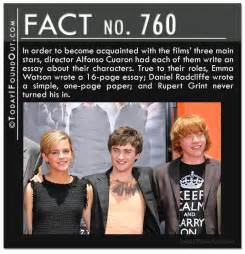 10 Quick Harry Potter Facts