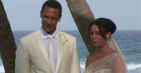 How Rio Ferdinand's wife Rebecca Ellison fell in love with