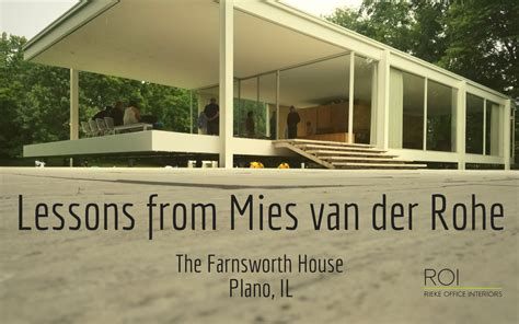 Lessons from Mies van der Rohe - Rieke Office Interiors