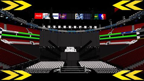 WWE Royal Rumble 2014 Stage Concept #1 - YouTube