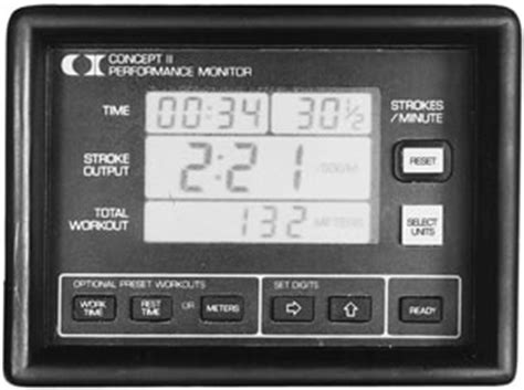 PM1 Indoor Rower Performance Monitor   Concept2 Accessories