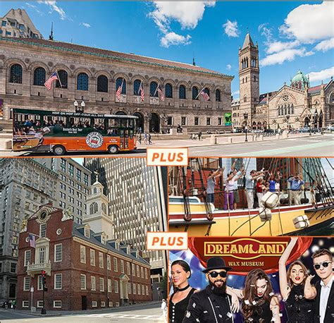 Buy Discount Tickets Online for Boston Tours and Attractions