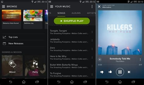 The best music streaming services for Android compared