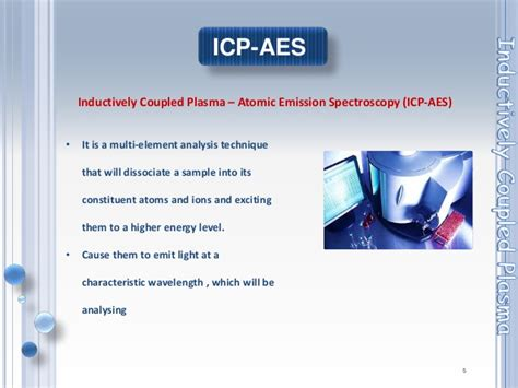 inductively coupled plasma ICP techniques & applications