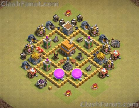 Town hall 5 base - Best th5 layout Clash of Clans 2019