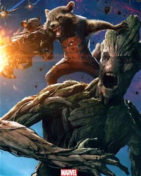 Rocket Raccoon and Groot get Their Own Poster for