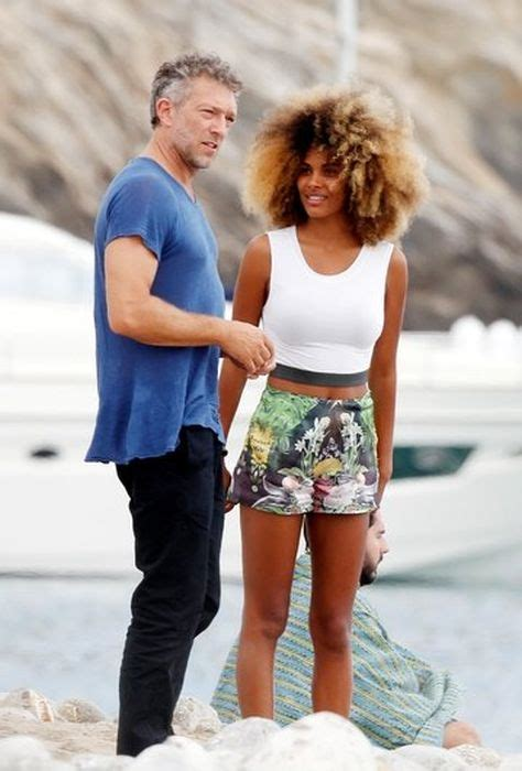 Vincent Cassel Spotted In Ibiza With Model Tina Kunakey