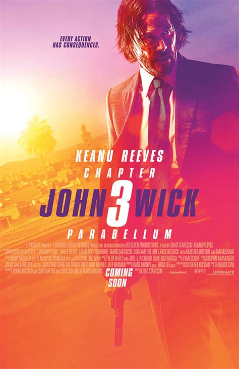 Nerdly » New trailer & poster for 'John Wick: Chapter 3